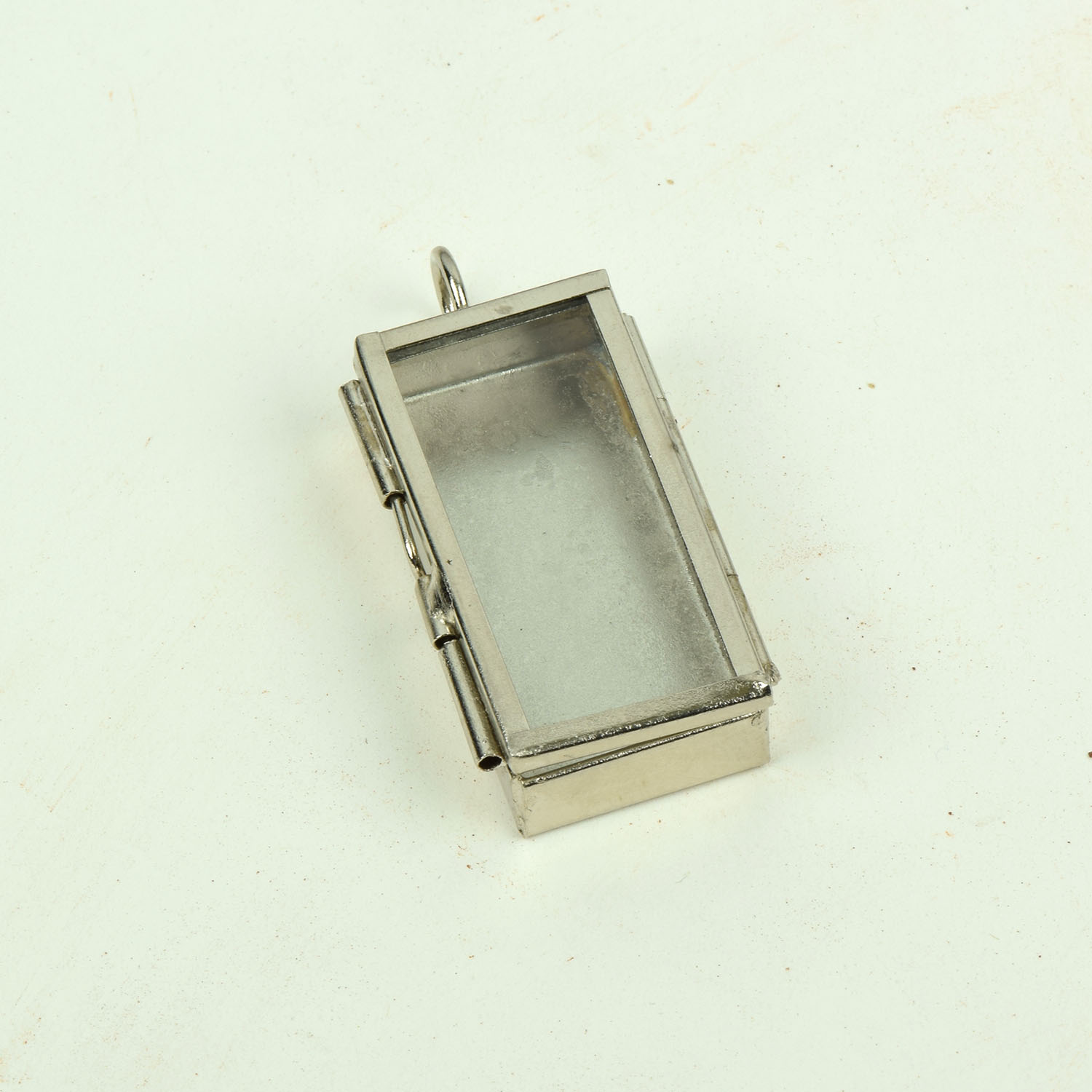 silver lockets grosses square mattiert p large shop de extra silber medaillon schmuckwerk