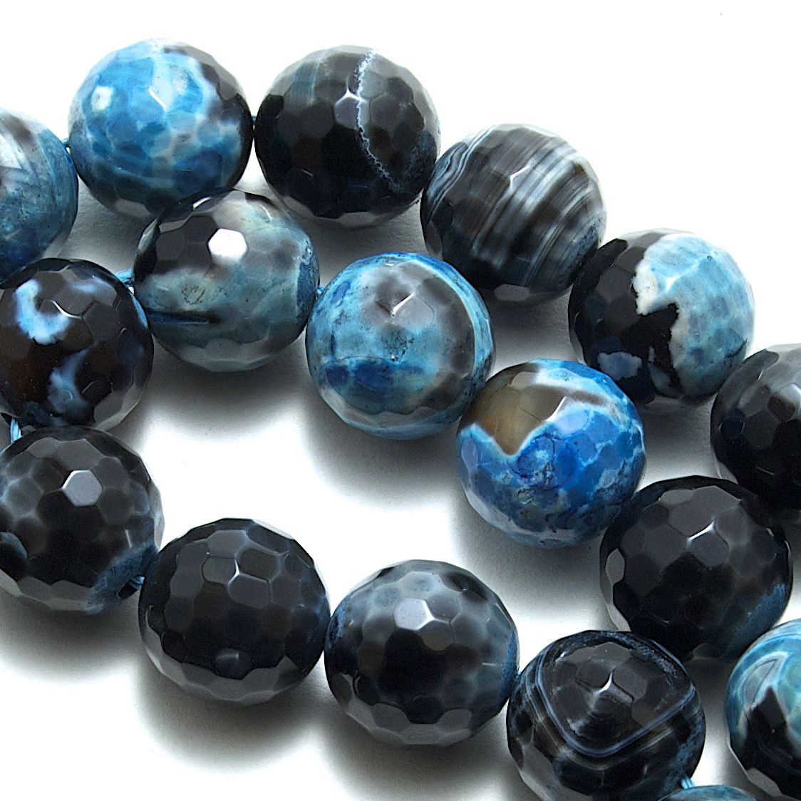 Agate & Aventurine Beads