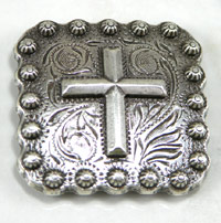Conchos for belts and hats