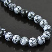 Obsidian & Onyx Beads