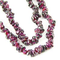 Garnet & Goldstone Beads