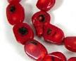 Coral & Carnelian Beads
