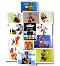 "H3 Art Papers, 3"" x 4"" sheets - Rowdy Cowgirls Double D, pack of 24"