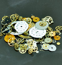 Watch Parts Assorted Bag-(Altered Art-n-Steampunk)