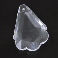 40mm Clear Crystal Acrylic Chandler Drop Pendant,  pack of 6