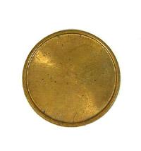 22mm Copper Discs, ea