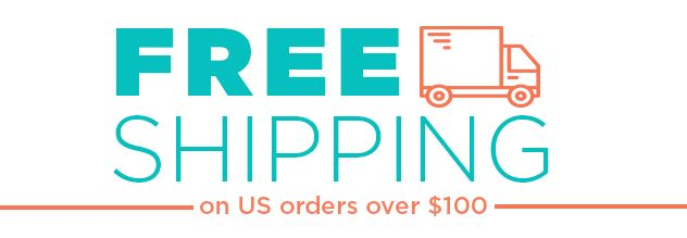 Free Shipping on us order over $100