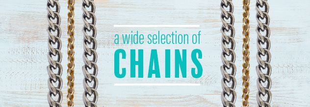 A wide selection of chains